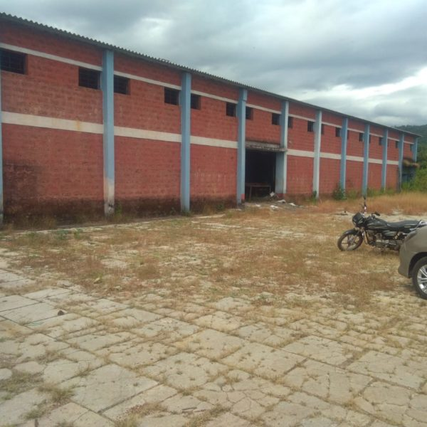 view outside the factory