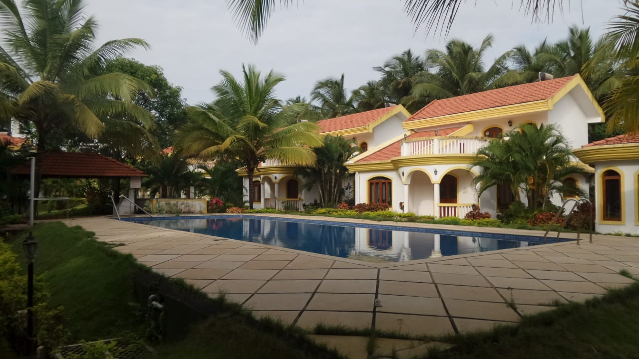 view of villa
